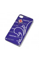 COVER APPLE IPHONE 4 - 4S VARIE COLORAZIONI ACF FIORENTINA