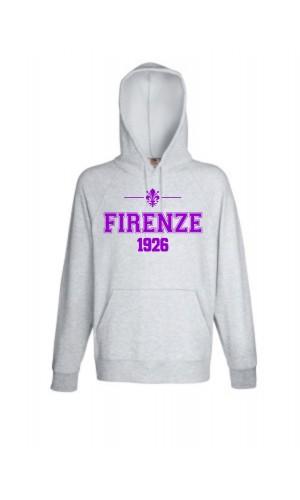 FELPA GIGLIO FIRENZE 1926 GRIGIA UOMO
