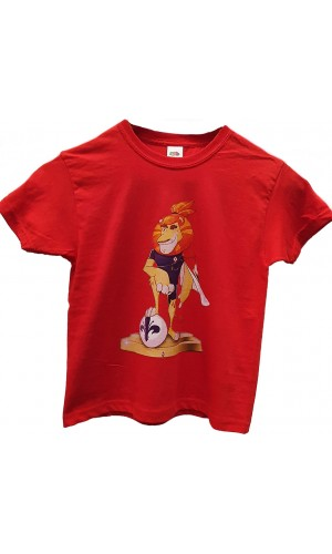 T-SHIRT MASCOT LEONE STADIO JUNIOR