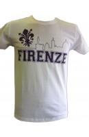 T-SHIRT SKYLINE FIRENZE 1926 GRIGIA